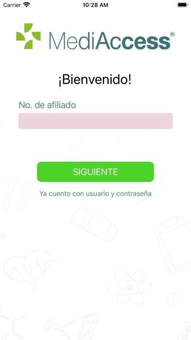 Afiliados MediAccess screenshot 1