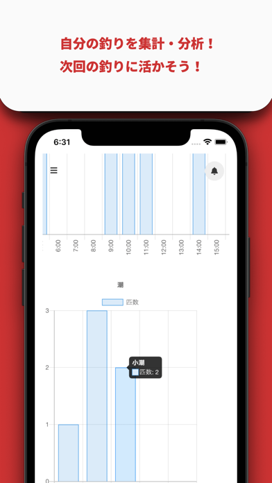 BigCatch - 釣り人向けの釣果管理アプリ screenshot 5
