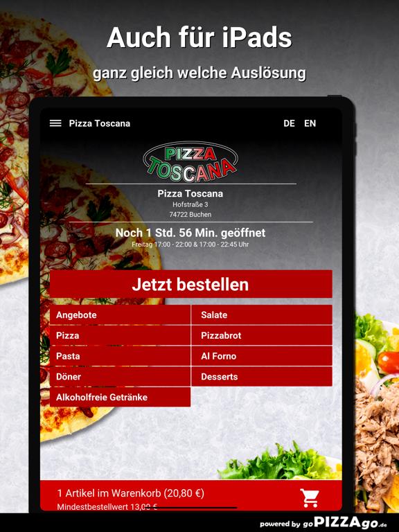 Pizza Toscana Buchen screenshot 7
