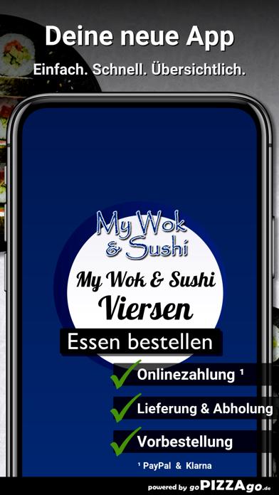 My Wok & Sushi Viersen screenshot 1