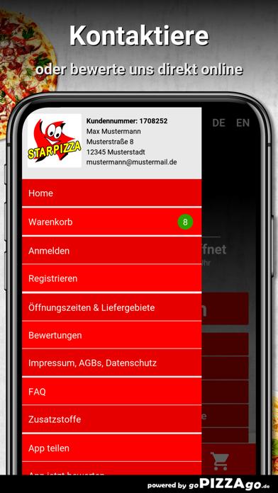 Star Pizza Kiel screenshot 3