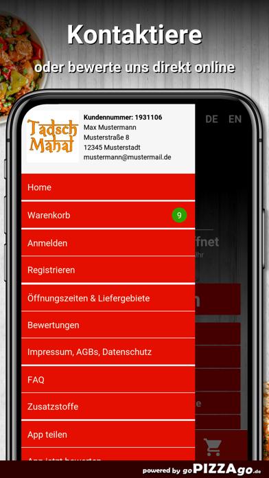 Tadsch Mahal Nürnberg screenshot 3