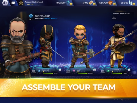 Assassin's Creed Rebellion iPad app afbeelding 2