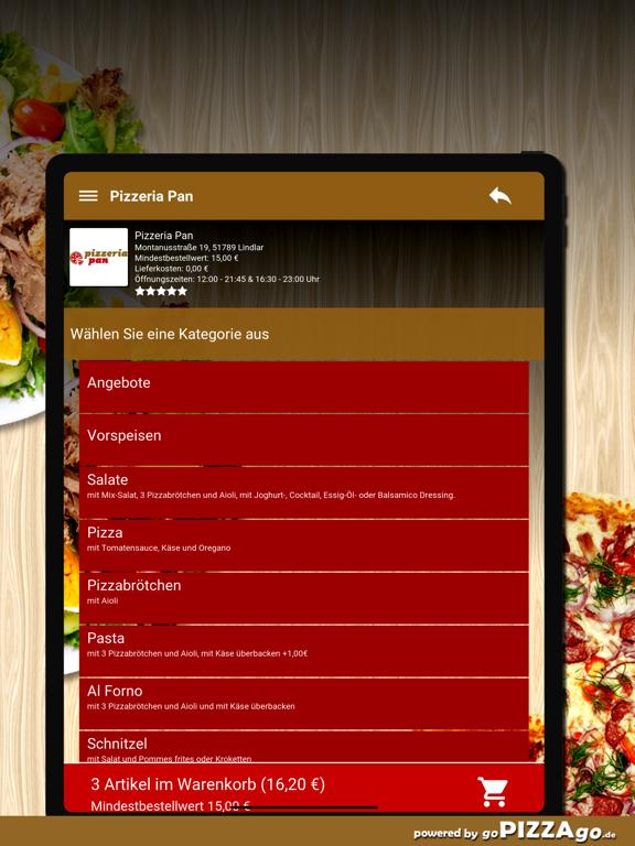 Pizzeria Pan Lindlar screenshot 8
