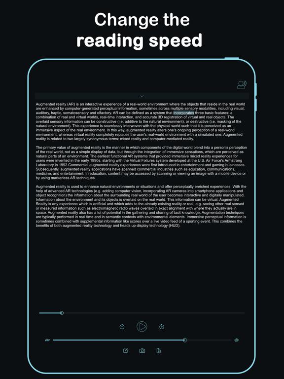 Listen - Text To Speech screenshot 13