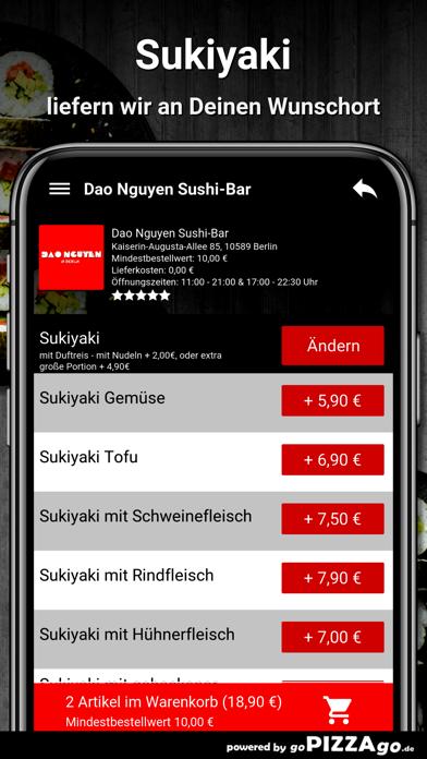 Dao Nguyen Sushi-Bar Berlin screenshot 1