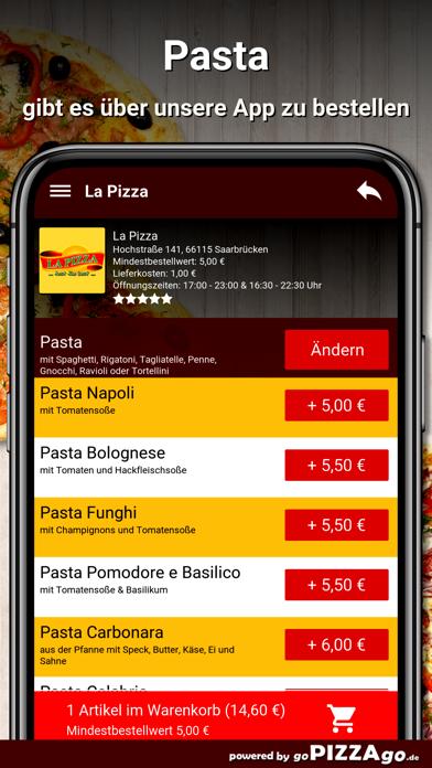 La Pizza Saarbrücken screenshot 6