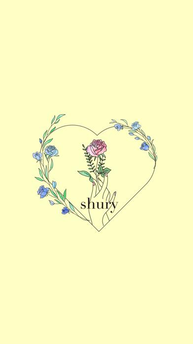 Shury 公式アプリ紹介画像1