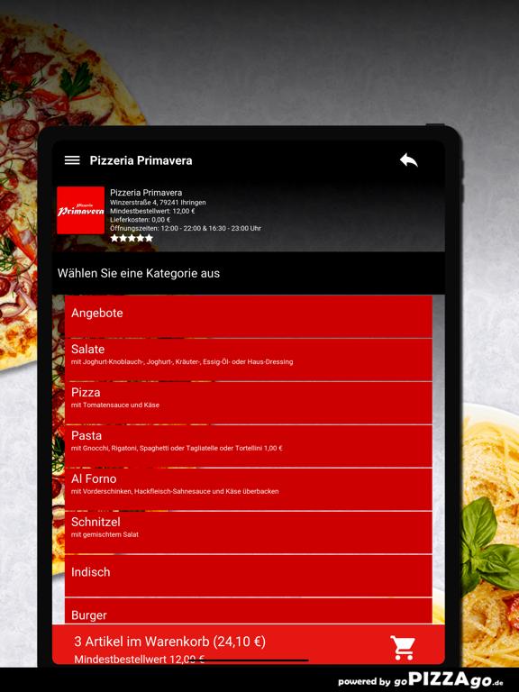 Pizzeria Primavera Ihringen screenshot 8