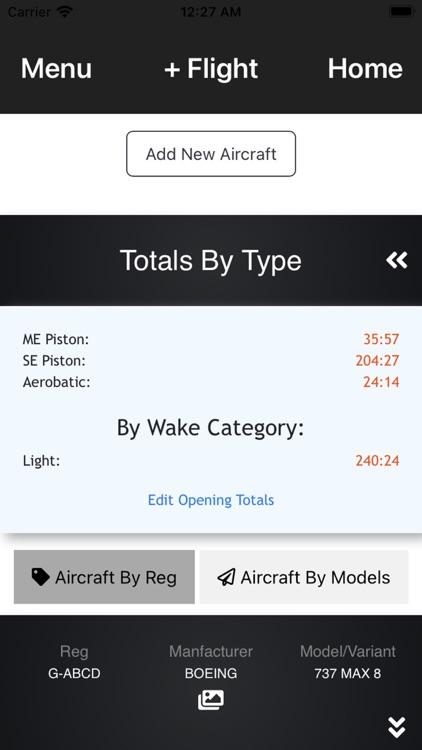 My Pilot Log -  Pilot Logbook screenshot-4