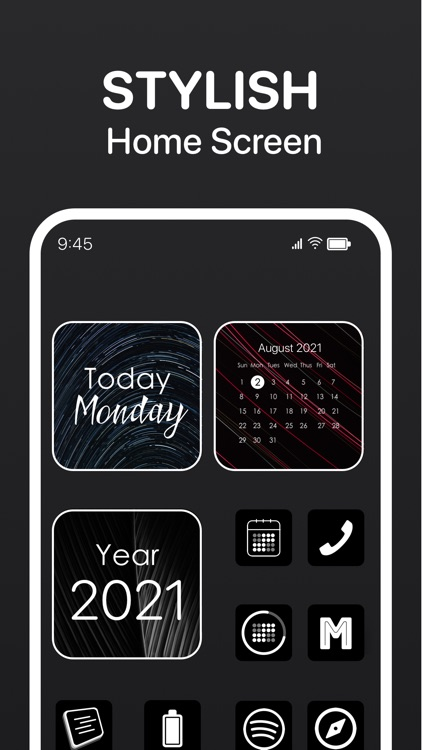Calendar Widget - Date Widgets screenshot-4