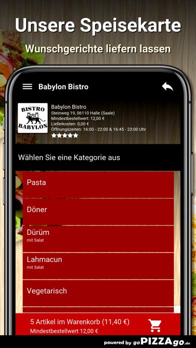 Babylon Bistro Halle (Saale) screenshot 4