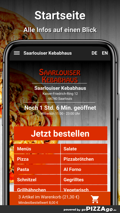 Saarlouiser Kebabhaus Saarloui screenshot 4
