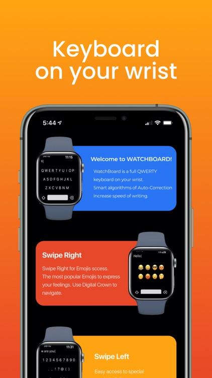 WatchBoard - Watch Keyboard screenshot-5