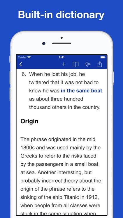 Dictionary of Idiom Origins screenshot-6