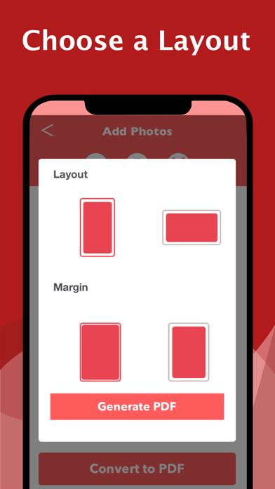 The PDF Photos - JPG to PDF屏幕截图3