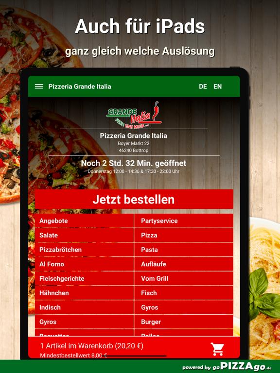 Pizzeria Grande Italia Bottrop screenshot 7