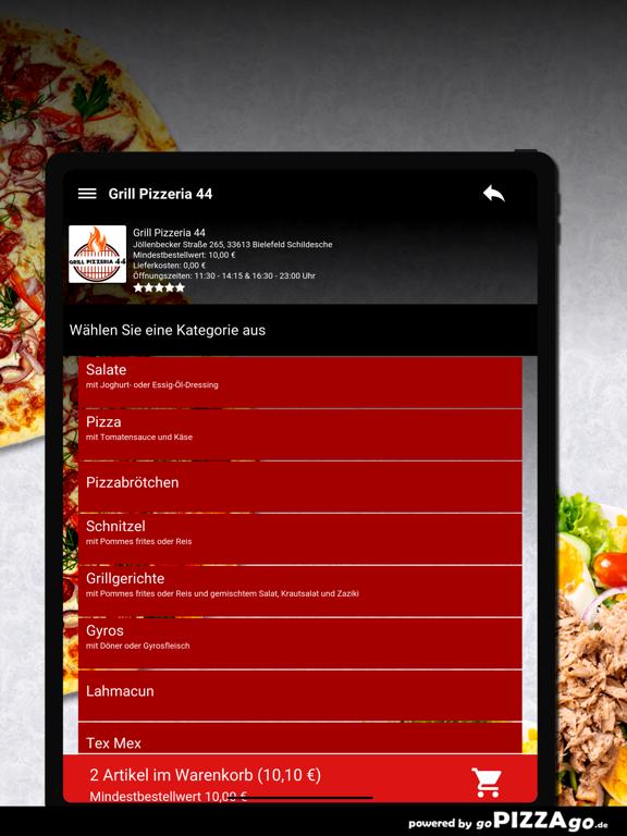 Grill Pizzeria 44 Bielefeld screenshot 8