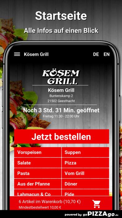 Kösem Grill Geesthacht screenshot 2