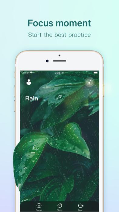 Rain sleep - sleep soundsScreenshot von 1