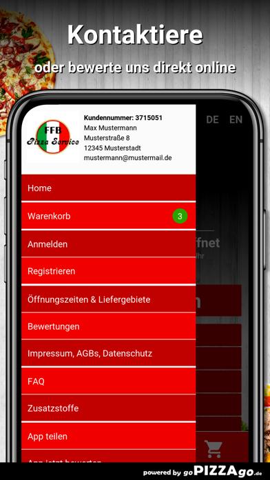 Pizza Service FFB Fürstenfeldb screenshot 3