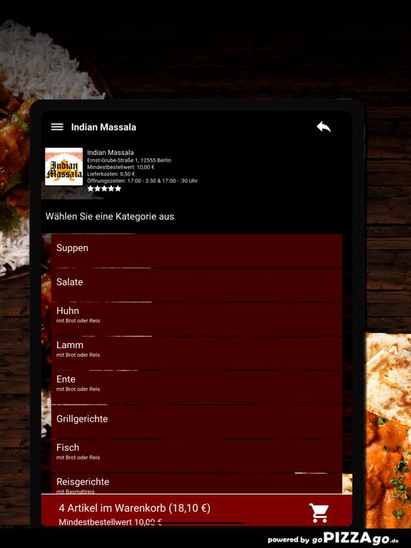 Indian Massala Berlin screenshot 8