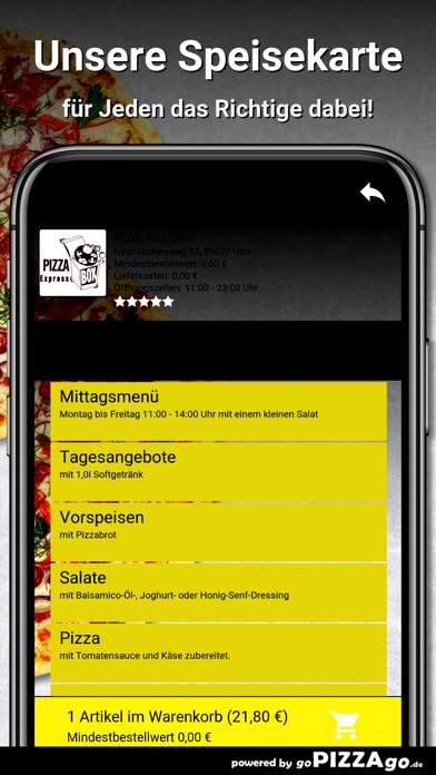 Pizza Box Ulm Ulm screenshot 4