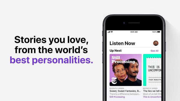 Apple Podcasts screenshot-0