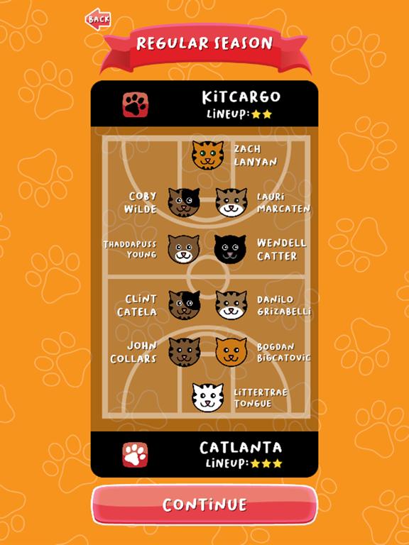 BasCATball Coach screenshot 6