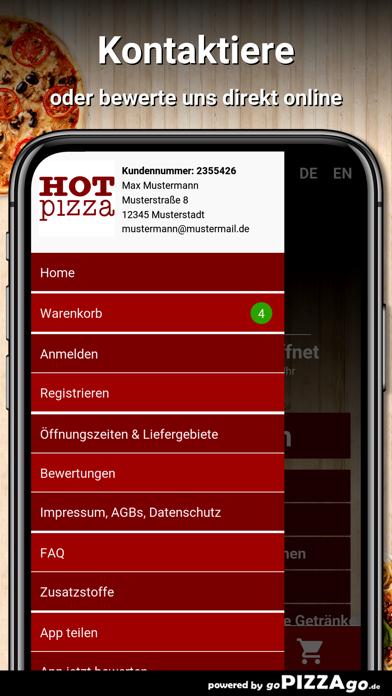 Hot Pizza Ingolstadt screenshot 3