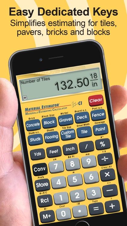 Material Estimator Calculator screenshot-4
