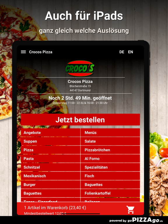 Crocos Pizza Dortmund screenshot 7