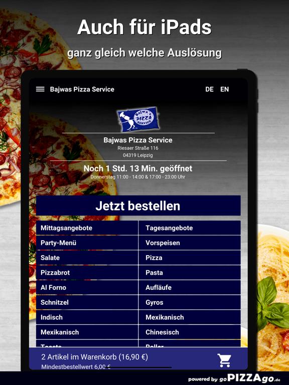 Bajwas Pizza Service Leipzig screenshot 7
