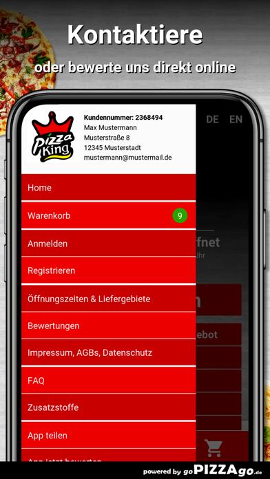 Pizza King Jena screenshot 3