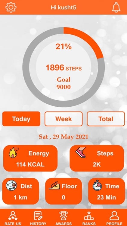 Pedometer+Walk Step Weightloss