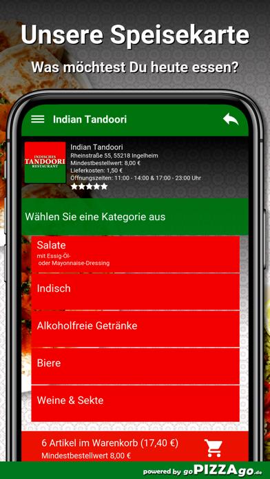 Indian Tandoori Ingelheim screenshot 3