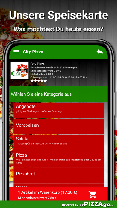 City Pizza Renningen screenshot 4