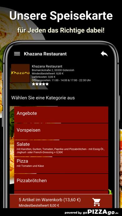 Khazana Restaurant Gütersloh screenshot 4