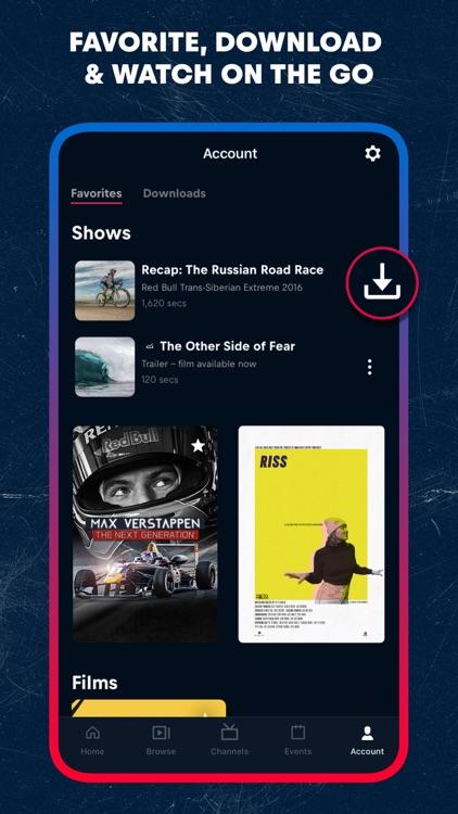 Red Bull TV: Live Events screenshot-7