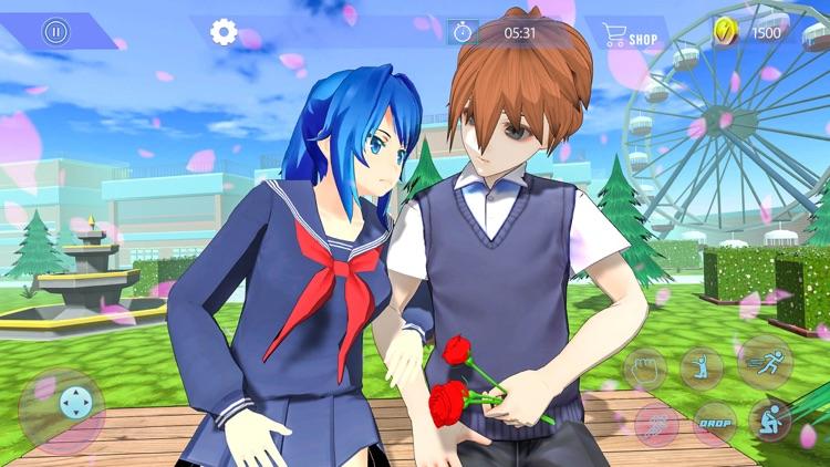 Anime High School Girls Sim 3D