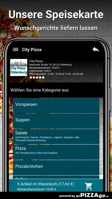 City-Pizza Oldenburg screenshot 4