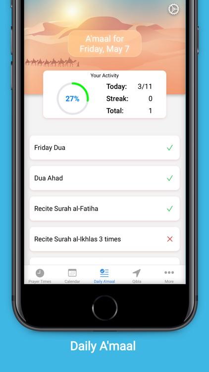 Shia+: Adhan, Calendar, Qibla screenshot-3