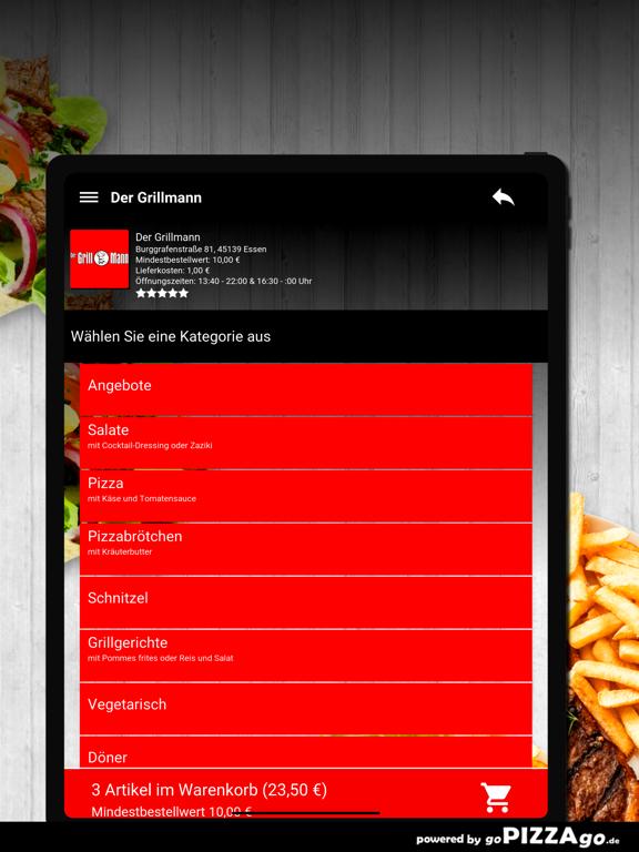 Der Grillmann Essen screenshot 8