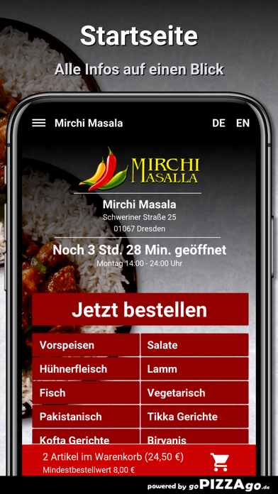 Mirchi Masala Dresden screenshot 2