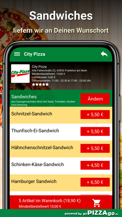 City Pizza Frankfurt am Main screenshot 6