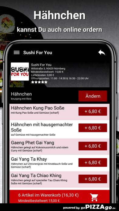 Sushi For You Nürnberg screenshot 5