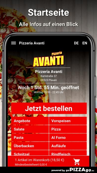 Pizzeria Avanti Plauen screenshot 2