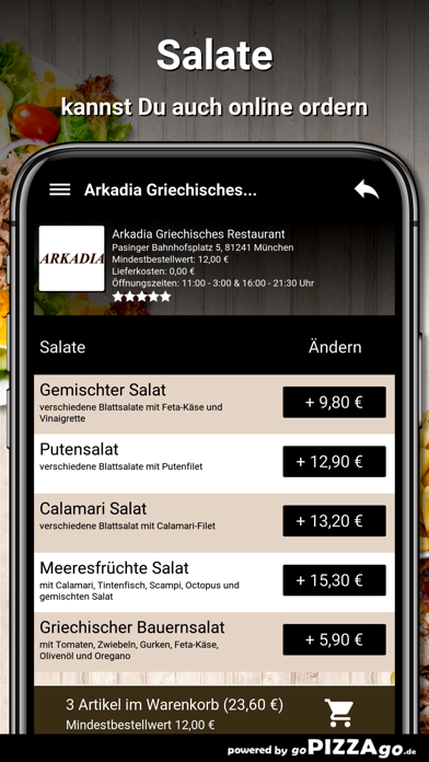 Arkadia München screenshot 5