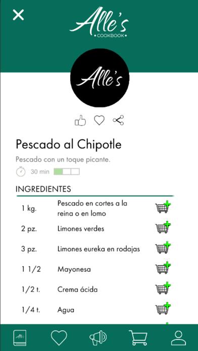 Recetario - Alle's Cookbook screenshot 3
