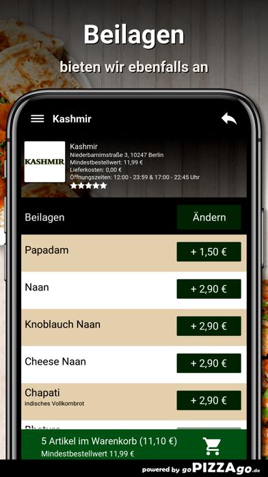 Kashmir Berlin screenshot 6
